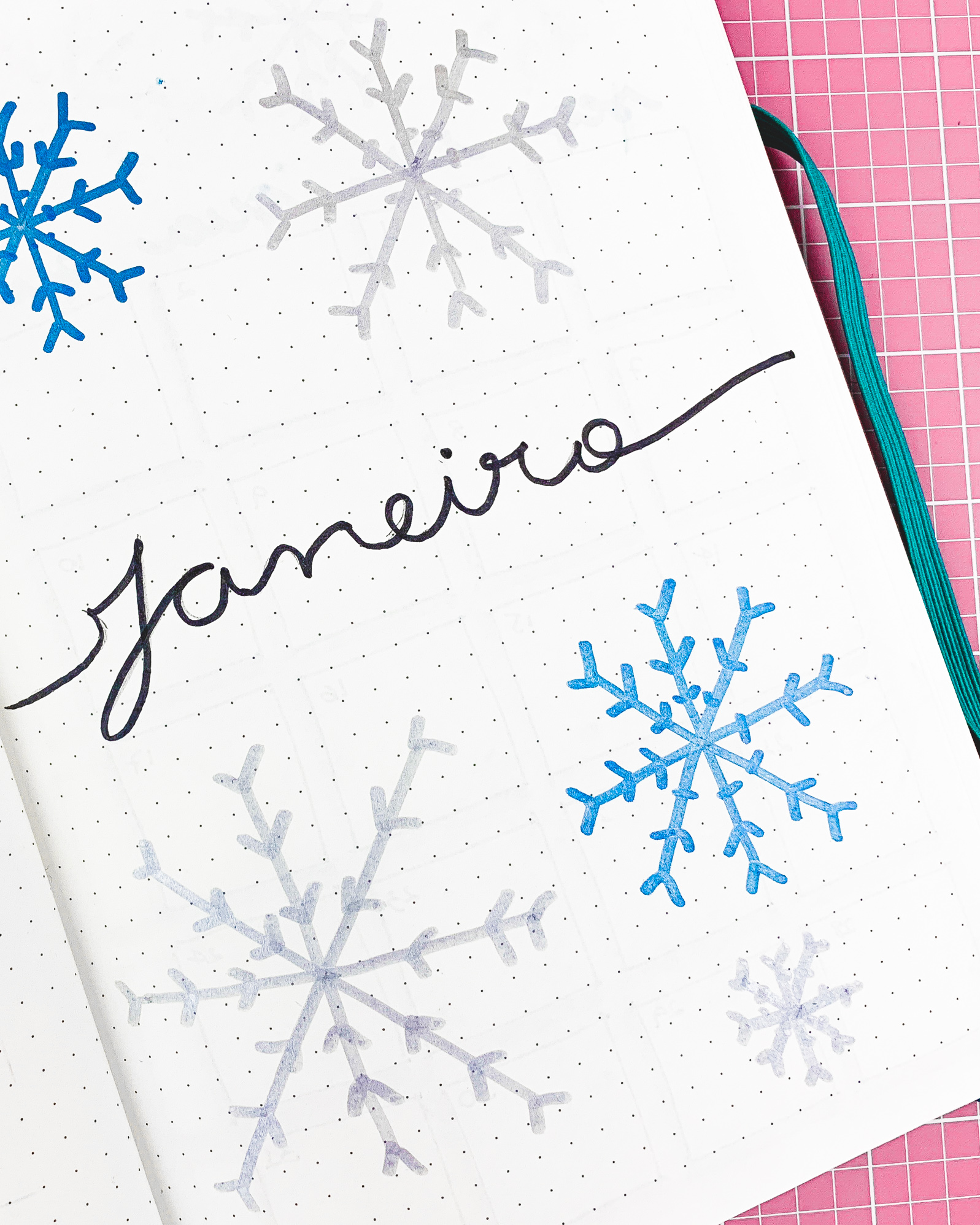 The easiest way to make a beautiful Bullet Journal