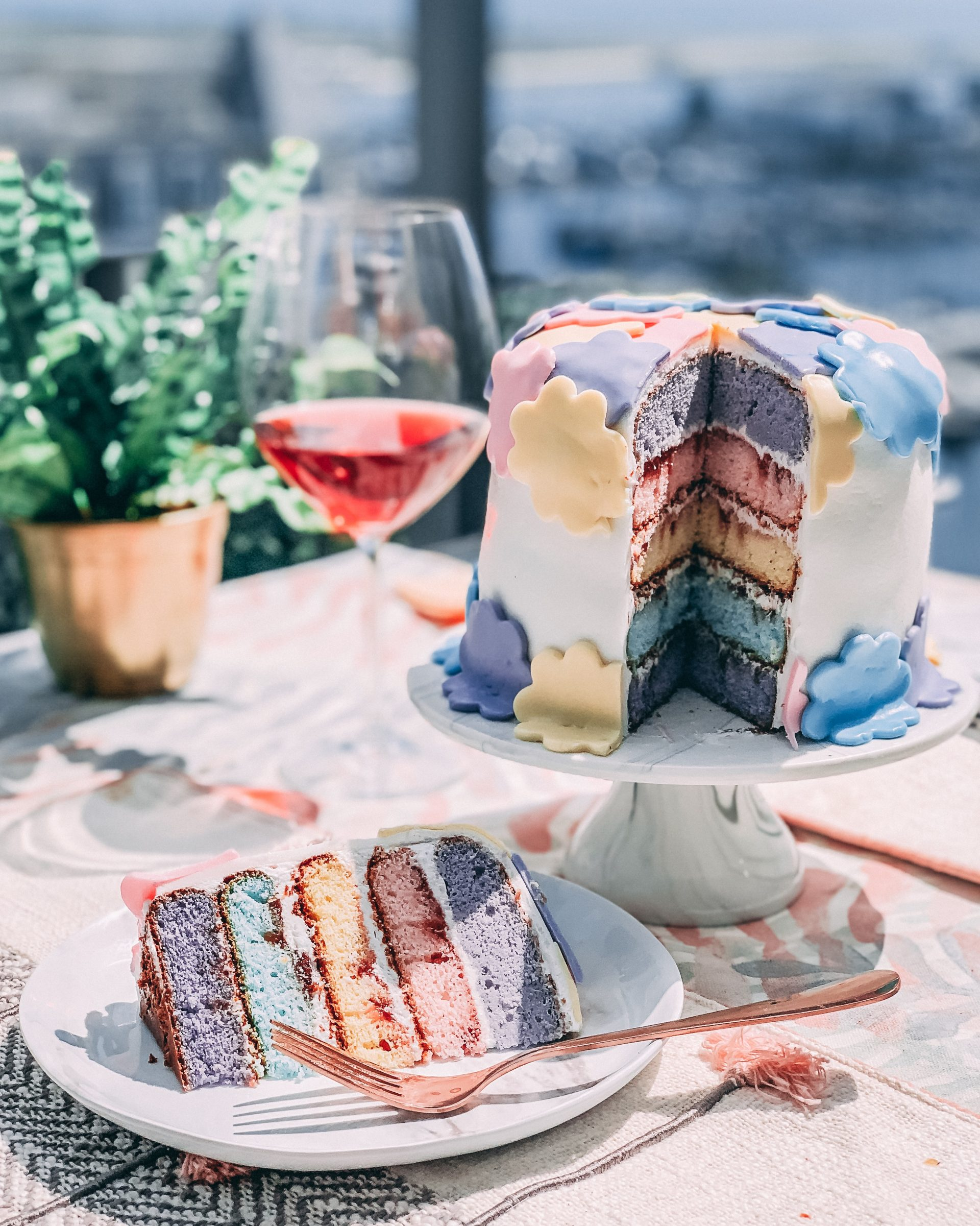 How I made my first layered cake