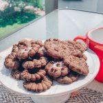 Biscoito de prensa de Chocolate com Café
