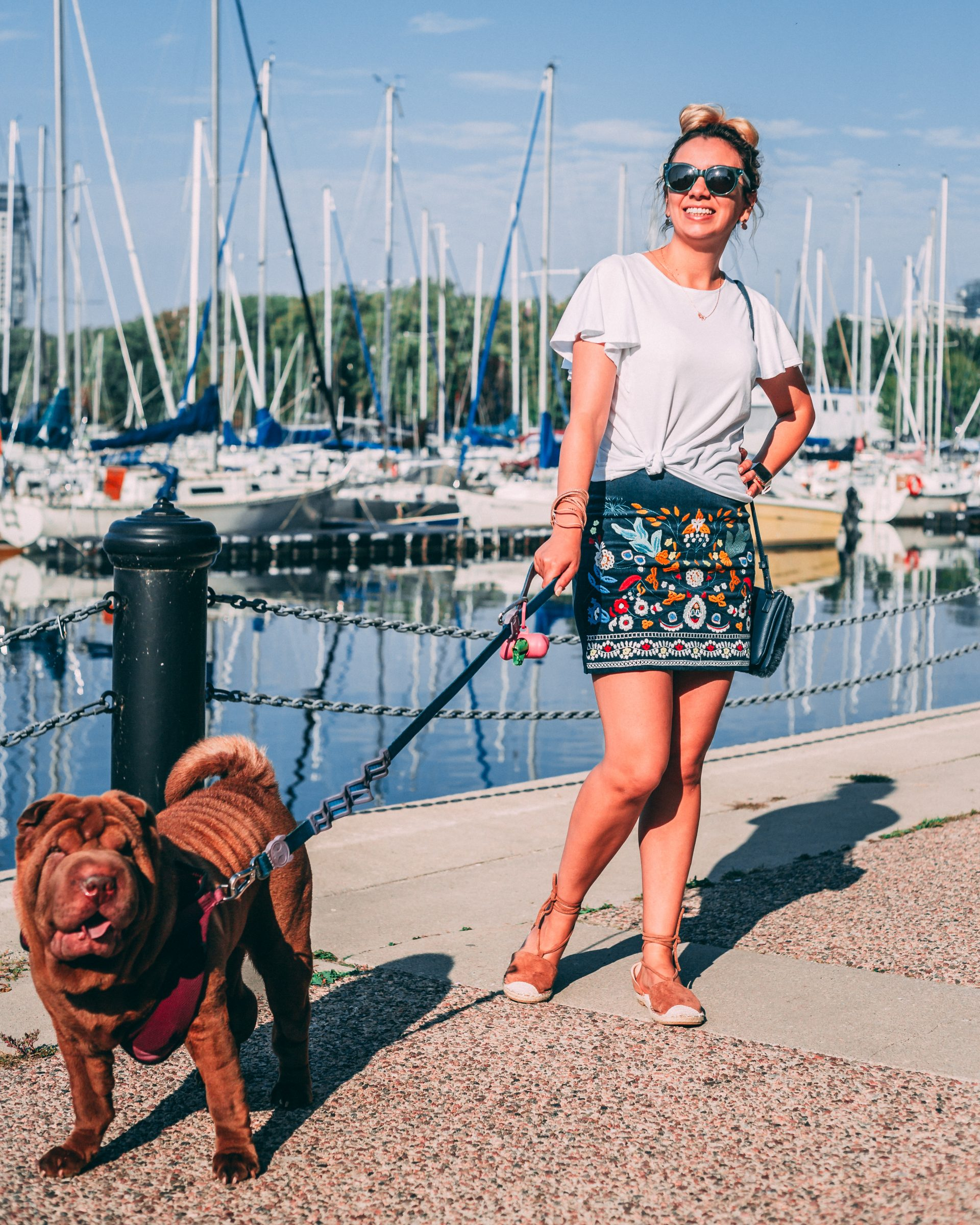 What I wore: my favorite fall skirt